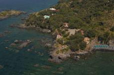 Vista aerea della Foresteria illicini