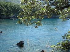 Il mare della spiaggetta Calavaecchia