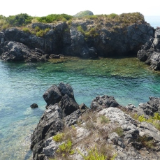 Vista dalla punta Matrella