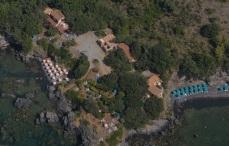 Ingresso al resort Illicini