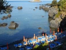 Spiaggetta Illicini all'alba